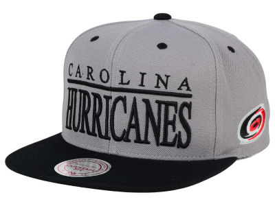 Carolina Hurricanes Mitchell and Ness NHL Top Shelf Snapback Cap
