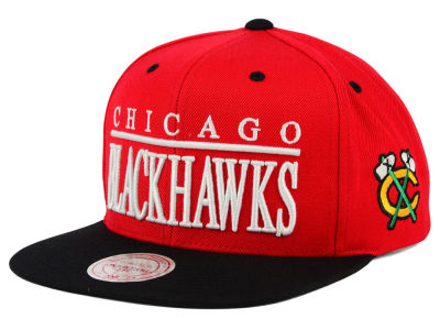 Chicago Blackhawks Mitchell & Ness NHL Top Shelf Snapback Cap