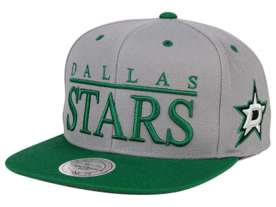 Dallas Stars Mitchell and Ness NHL Top Shelf Snapback Cap