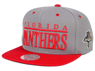 Florida Panthers Mitchell and Ness NHL Top Shelf Snapback Cap