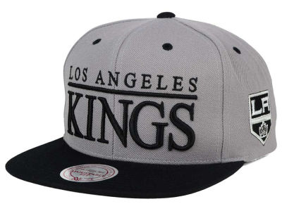 Los Angeles Kings Mitchell and Ness NHL Top Shelf Snapback Cap