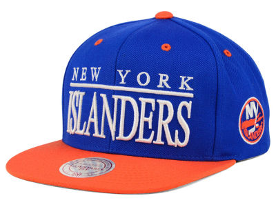 New York Islanders Mitchell & Ness NHL Top Shelf Snapback Cap