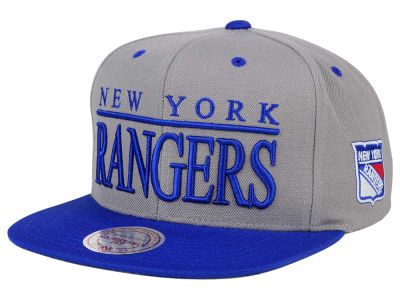 New York Rangers Mitchell & Ness NHL Top Shelf Snapback Cap