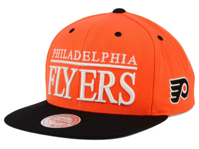 Philadelphia Flyers Mitchell and Ness NHL Top Shelf Snapback Cap