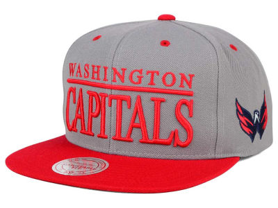 Washington Capitals Mitchell and Ness NHL Top Shelf Snapback Cap