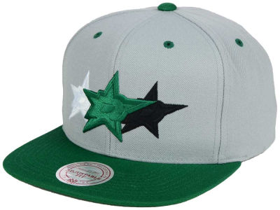 Dallas Stars Mitchell and Ness NHL Triple Color Stack Snapback Cap