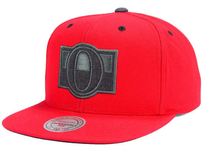 Ottawa Senators Mitchell and Ness NHL Grey Tonal Logo Snapback Cap