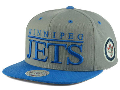 Winnipeg Jets Mitchell and Ness NHL Top Shelf Snapback Cap