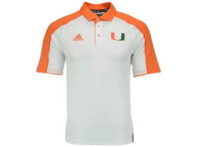 Miami Hurricanes adidas NCAA Men's Sideline Polo Shirt