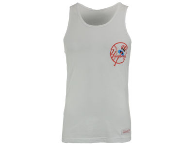 New York Yankees Mitchell and Ness MLB Men's Batters Box Tank