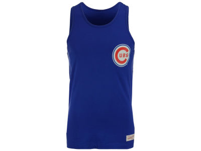 Chicago Cubs Mitchell and Ness MLB Men's Batters Box Tank