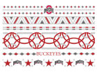 Ohio State Buckeyes Metallic Jewelry Temporary Tattoos Gameday & Tailgate
