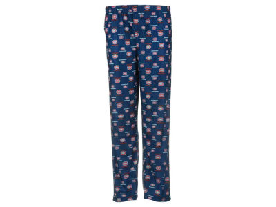 Montreal Canadiens NHL CN Youth All Over Print Pajama Pants