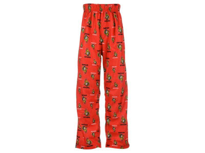 Ottawa Senators NHL CN Youth All Over Print Pajama Pants