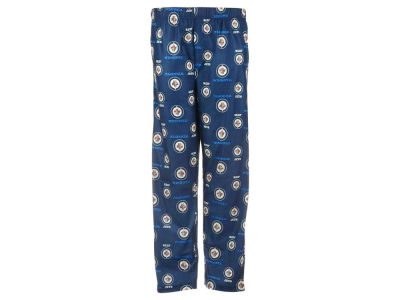 Winnipeg Jets NHL CN Youth All Over Print Pajama Pants
