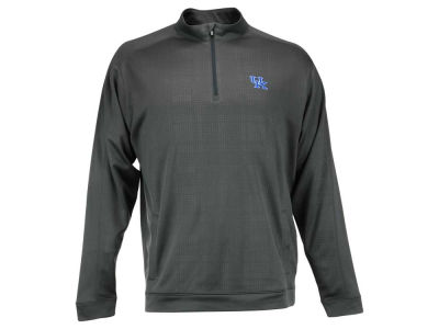 Kentucky Wildcats Cutter & Buck NCAA Men's Drytec Quarter Zip Pullover Shirt