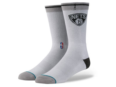 Brooklyn Nets Stance NBA Arena Logo Crew Sock