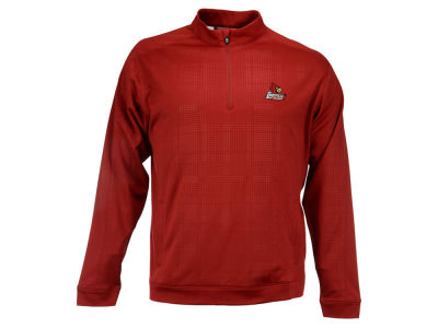 Louisville Cardinals NCAA Men's Drytec Quarter Zip Pullover Shirt