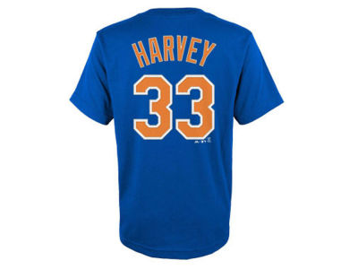 New York Mets Matt Harvey MLB Toddler Official Player T-Shirt