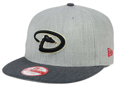 Arizona Diamondbacks New Era MLB Heather Action 9FIFTY Snapback Cap