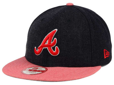 Atlanta Braves New Era MLB Heather Action 9FIFTY Snapback Cap