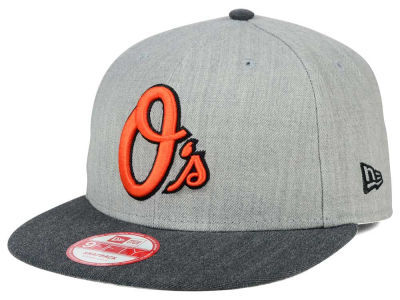 Baltimore Orioles New Era MLB Heather Action 9FIFTY Snapback Cap