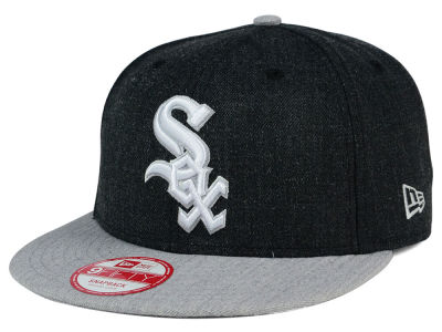 Chicago White Sox New Era MLB Heather Action 9FIFTY Snapback Cap