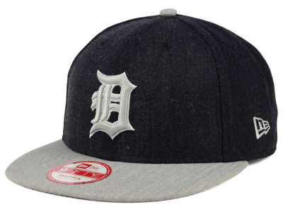 Detroit Tigers New Era MLB Heather Action 9FIFTY Snapback Cap