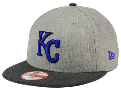 Kansas City Royals New Era MLB Heather Action 9FIFTY Snapback Cap