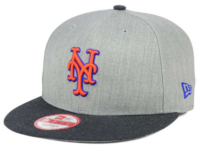 New York Mets New Era MLB Heather Action 9FIFTY Snapback Cap