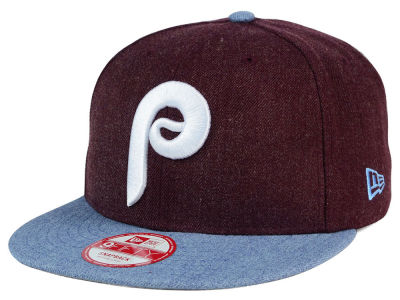 Philadelphia Phillies New Era MLB Heather Action 9FIFTY Snapback Cap