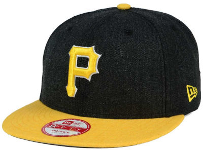 Pittsburgh Pirates New Era MLB Heather Action 9FIFTY Snapback Cap