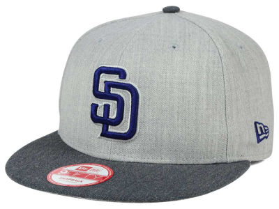 San Diego Padres New Era MLB Heather Action 9FIFTY Snapback Cap