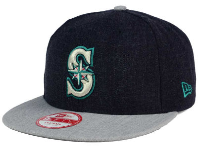 Seattle Mariners New Era MLB Heather Action 9FIFTY Snapback Cap