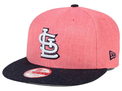 St. Louis Cardinals New Era MLB Heather Action 9FIFTY Snapback Cap