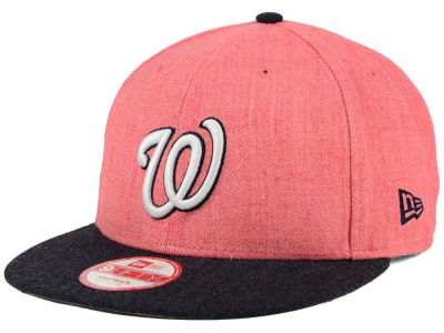 Washington Nationals New Era MLB Heather Action 9FIFTY Snapback Cap