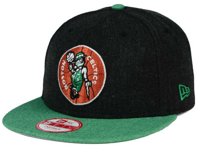 Boston Celtics New Era NBA HWC Heather Action 9FIFTY Snapback Cap