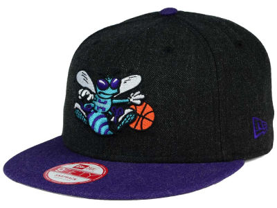 Charlotte Hornets New Era NBA HWC Heather Action 9FIFTY Snapback Cap