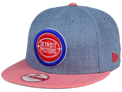 Detroit Pistons New Era NBA HWC Heather Action 9FIFTY Snapback Cap