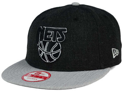 New Jersey Nets New Era NBA HWC Heather Action 9FIFTY Snapback Cap