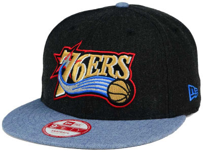 Philadelphia 76ers New Era NBA HWC Heather Action 9FIFTY Snapback Cap