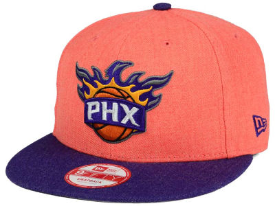 Phoenix Suns New Era NBA HWC Heather Action 9FIFTY Snapback Cap