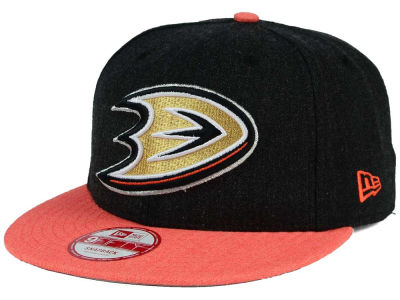 Anaheim Ducks New Era NHL Heather Action 9FIFTY Snapback Cap