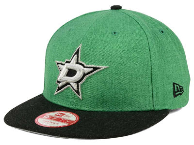 Dallas Stars New Era NHL Heather Action 9FIFTY Snapback Cap