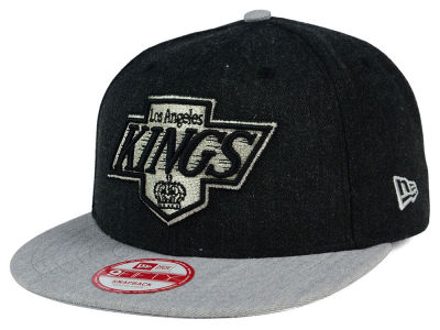 Los Angeles Kings New Era NHL Heather Action 9FIFTY Snapback Cap