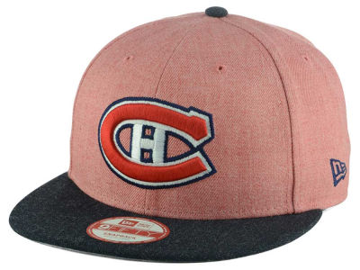 Montreal Canadiens New Era NHL Heather Action 9FIFTY Snapback Cap