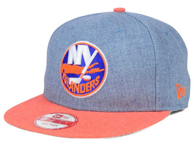 New York Islanders New Era NHL Heather Action 9FIFTY Snapback Cap