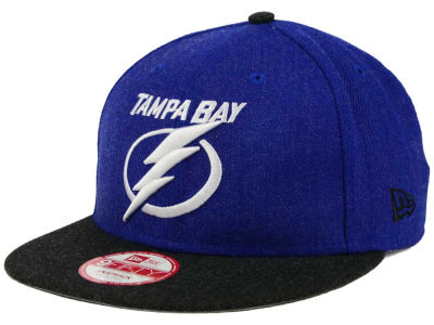 Tampa Bay Lightning New Era NHL Heather Action 9FIFTY Snapback Cap