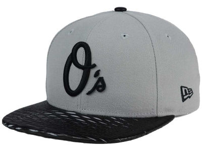 Baltimore Orioles New Era MLB Leather RIP 9FIFTY Snapback Cap