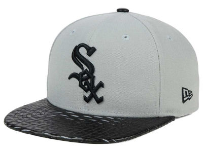 Chicago White Sox New Era MLB Leather RIP 9FIFTY Snapback Cap